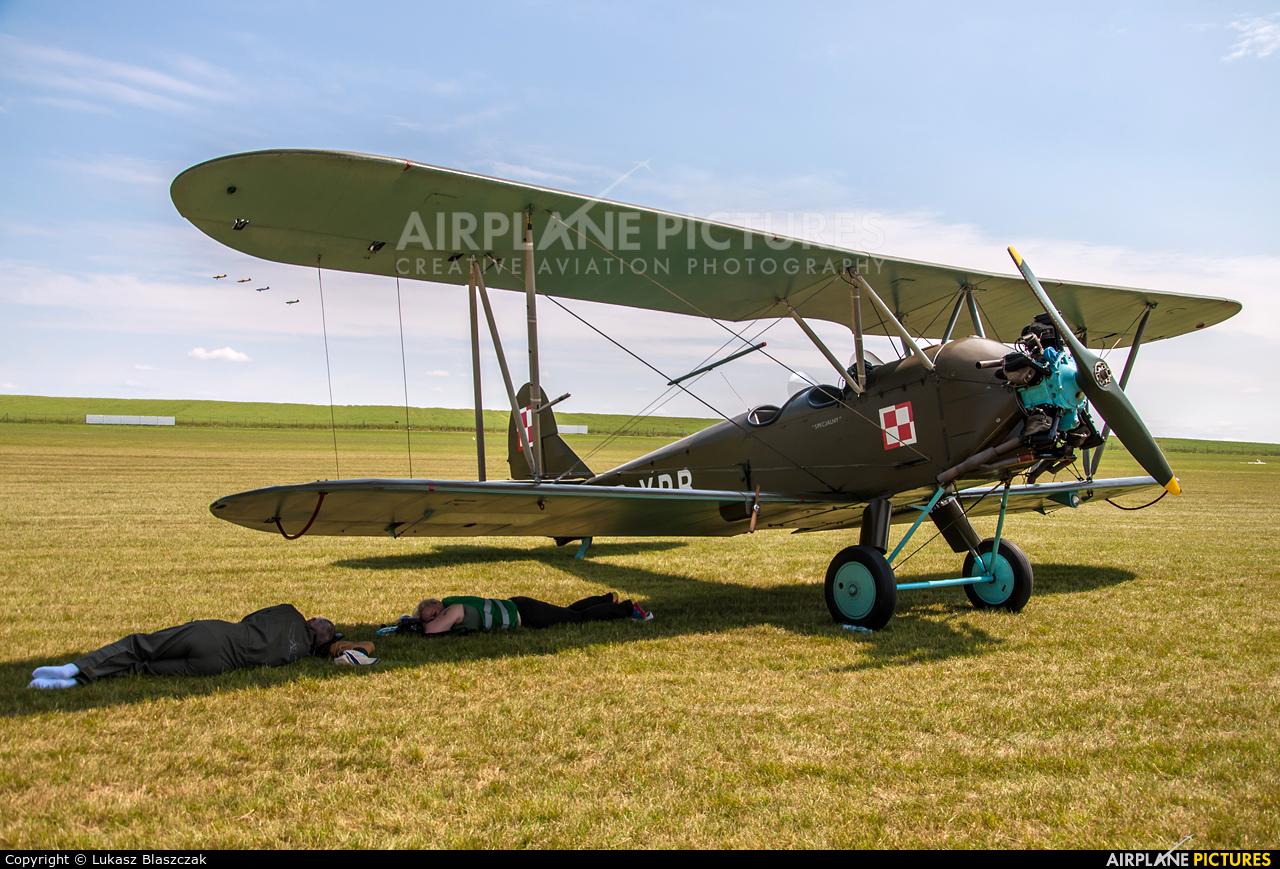 Silvair SP-YPB aircraft at Depułtycze Królewskie
