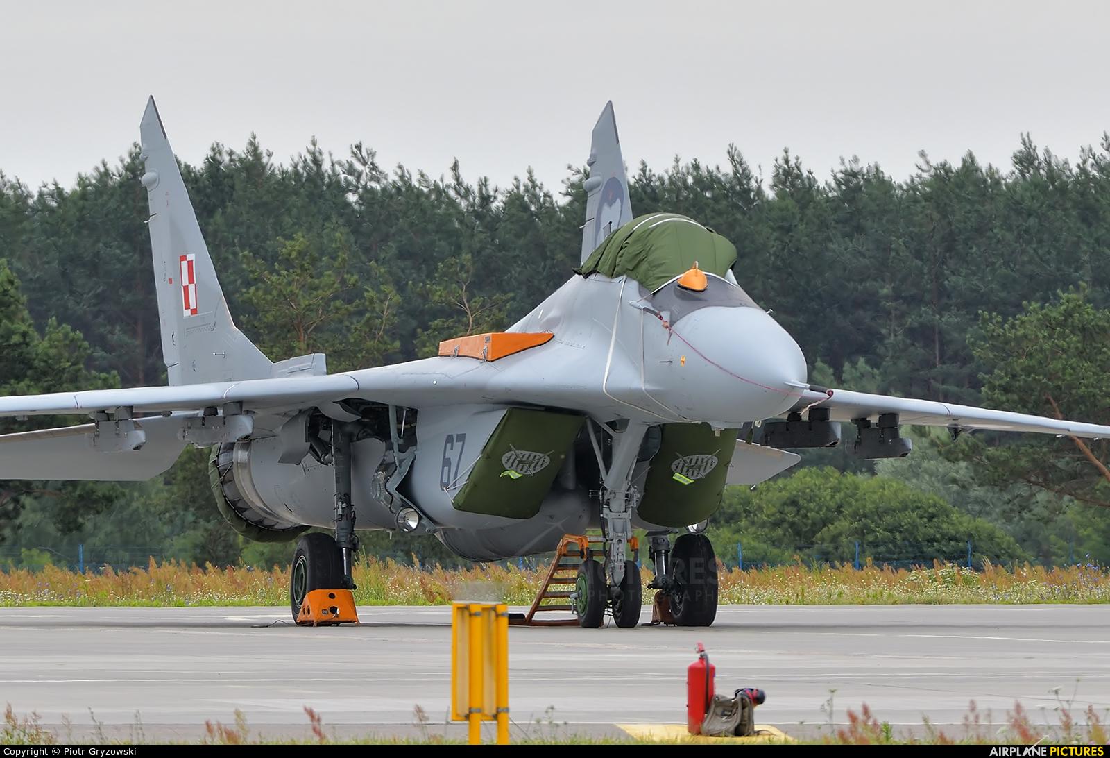Poland - Air Force 67 aircraft at Dęblin