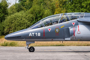 AT18 - Belgium - Air Force Dassault - Dornier Alpha Jet 1B