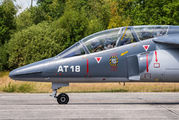 AT18 - Belgium - Air Force Dassault - Dornier Alpha Jet 1B aircraft