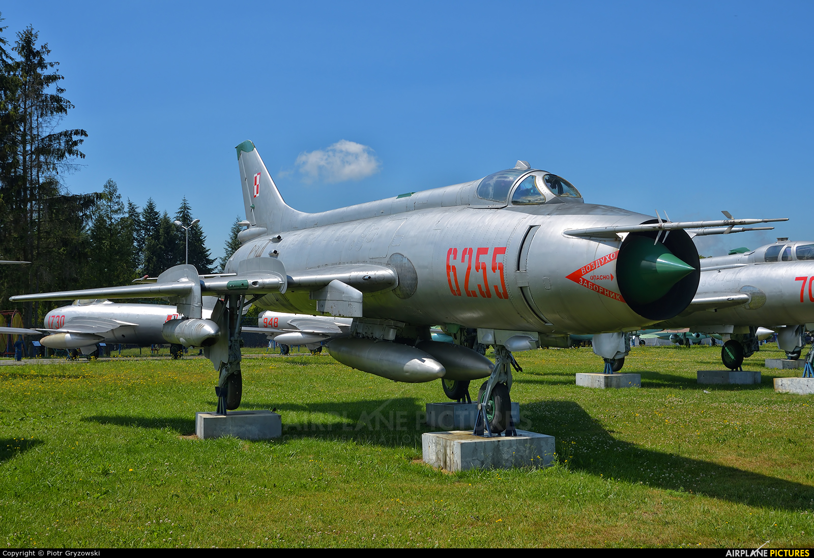 Poland - Air Force 6255 aircraft at Dęblin - Museum of Polish Air Force