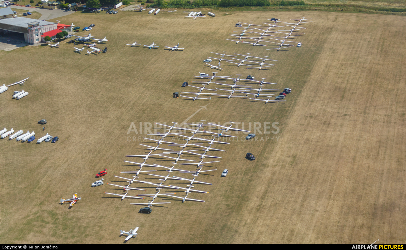 - Airport Overview  aircraft at Partizanske