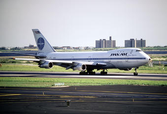 N902PA - Pan Am Boeing 747-100