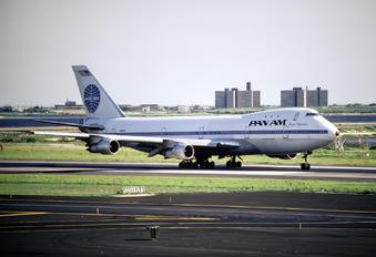 N902PA - Pan Am Boeing 747-100