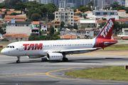 PR-MBS - TAM Airbus A320 aircraft