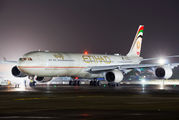 A6-EHI - Etihad Airways Airbus A340-600 aircraft