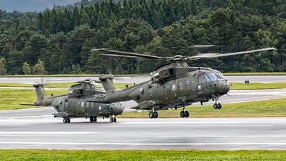 ZJ136 - Royal Air Force Agusta Westland AW101 411 Merlin HC.3