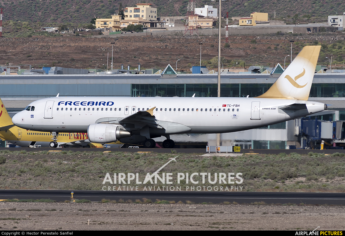 FreeBird Airlines TC-FBH aircraft at Tenerife Sur - Reina Sofia