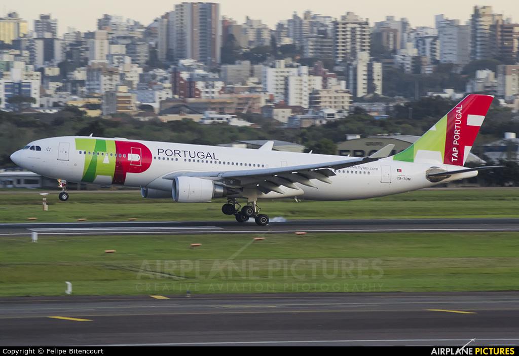 TAP Portugal CS-TOM aircraft at Porto Alegre - Salgado Filho