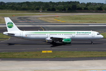 D-ASTV - Germania Airbus A321