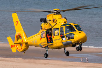OO-NHU - NHV - Noordzee Helikopters Vlaanderen Aerospatiale AS365 Dauphin II