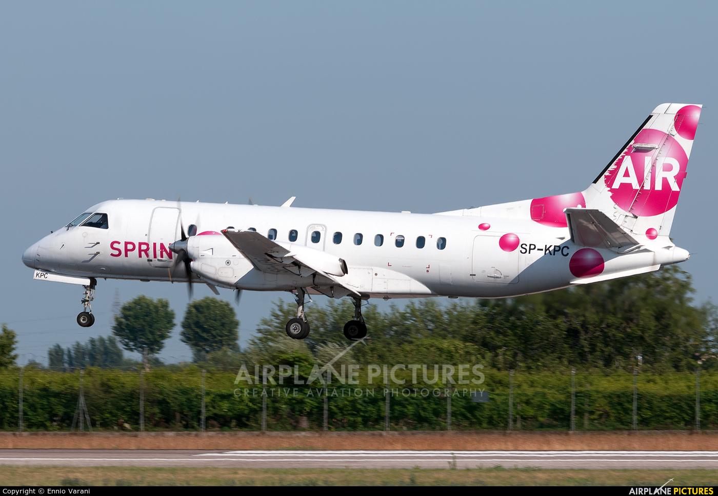 Sprint Air SP-KPC aircraft at Verona - Villafranca