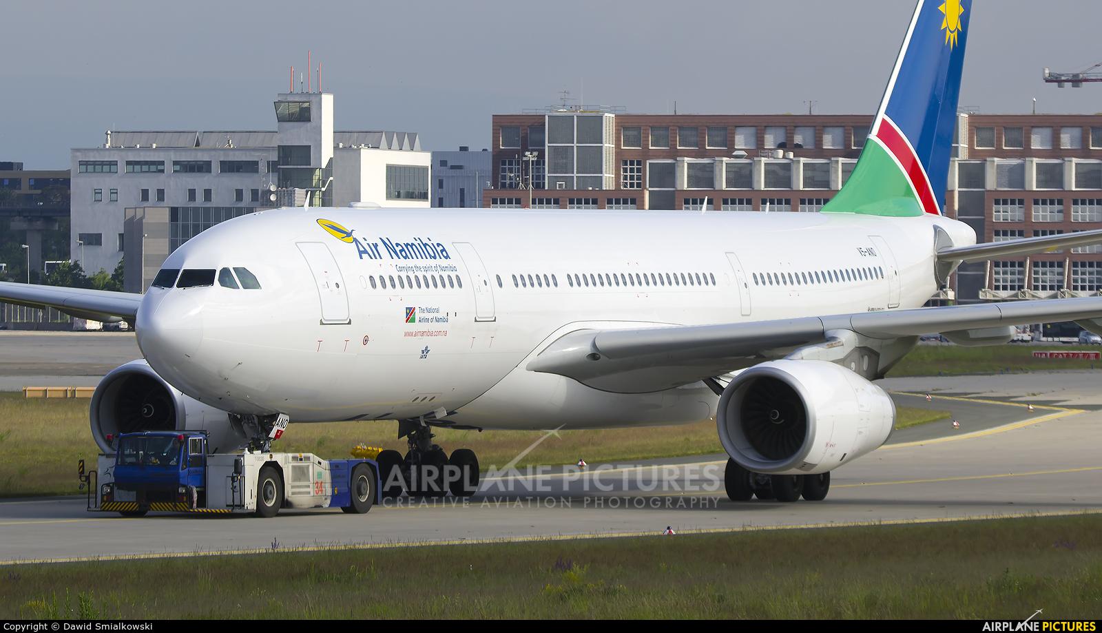 Air Namibia V5-ANO aircraft at Frankfurt