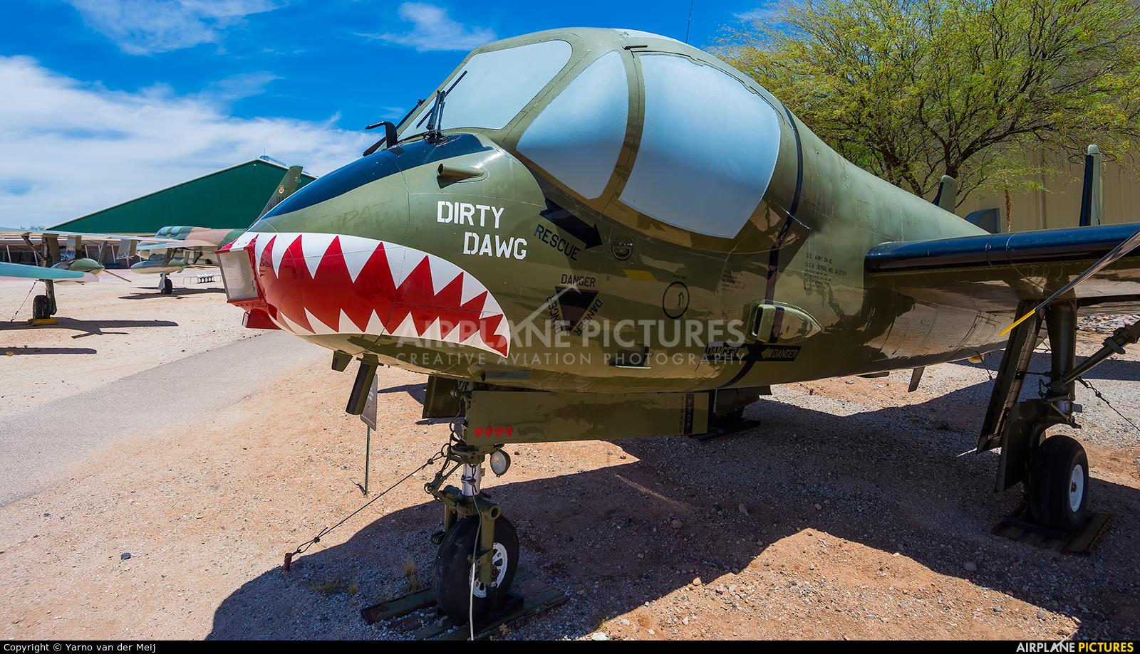 USA - Army 61-2724 aircraft at Tucson - Pima Air & Space Museum