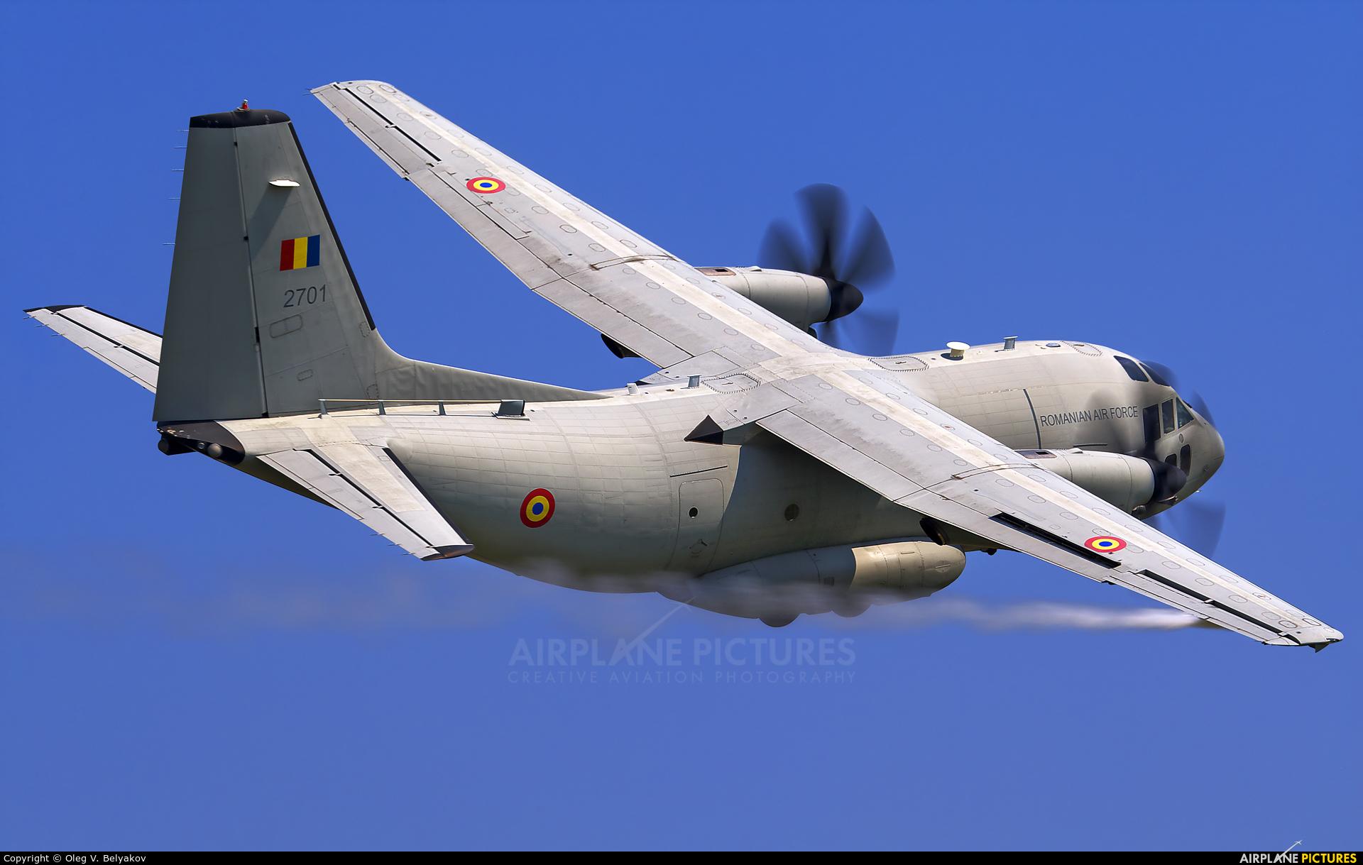 Romania - Air Force 2701 aircraft at Bucharest - Aurel Vlaicu Intl