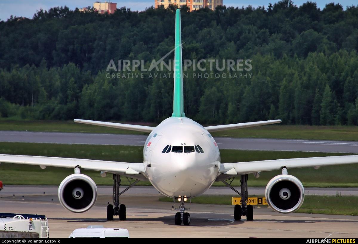 Mahan Air EP-MNP aircraft at St. Petersburg - Pulkovo