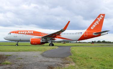 G-EZPB - easyJet Airbus A320