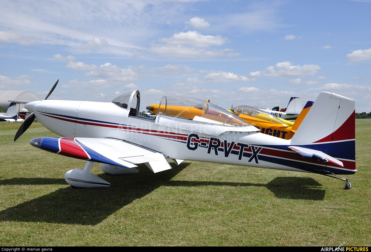 Private G-RVTX aircraft at North Weald