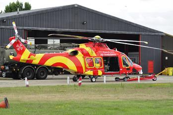 G-HHEM - Essex Air Ambulance Agusta Westland AW169