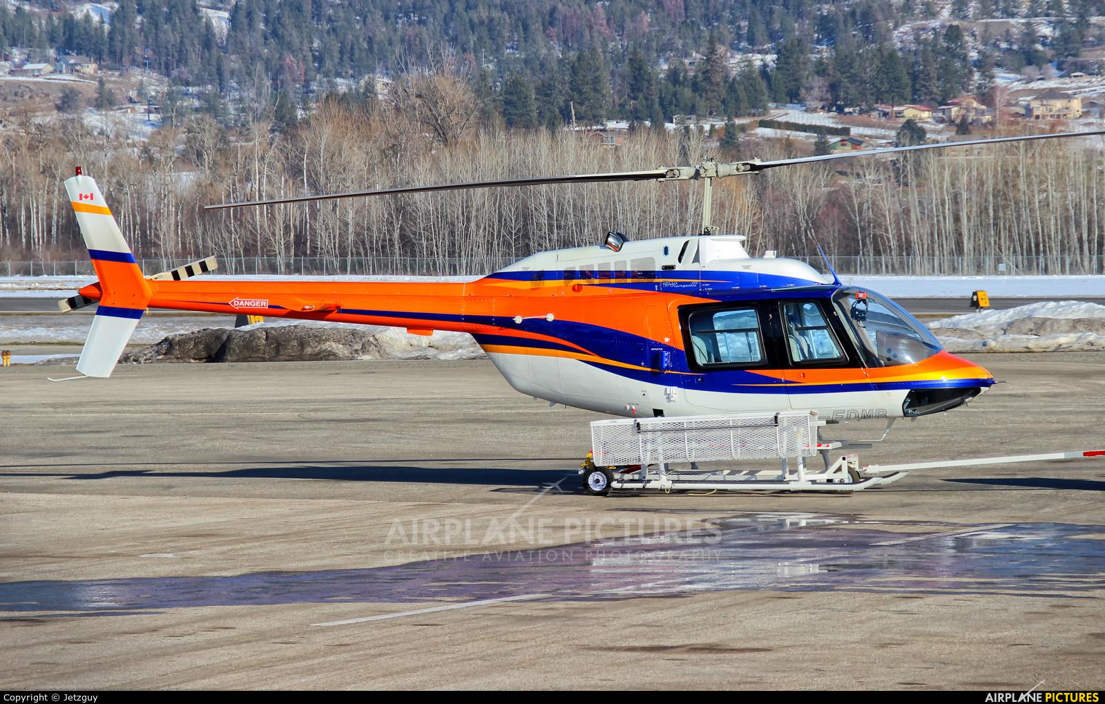 Private C-FDMR aircraft at Kelowna, BC