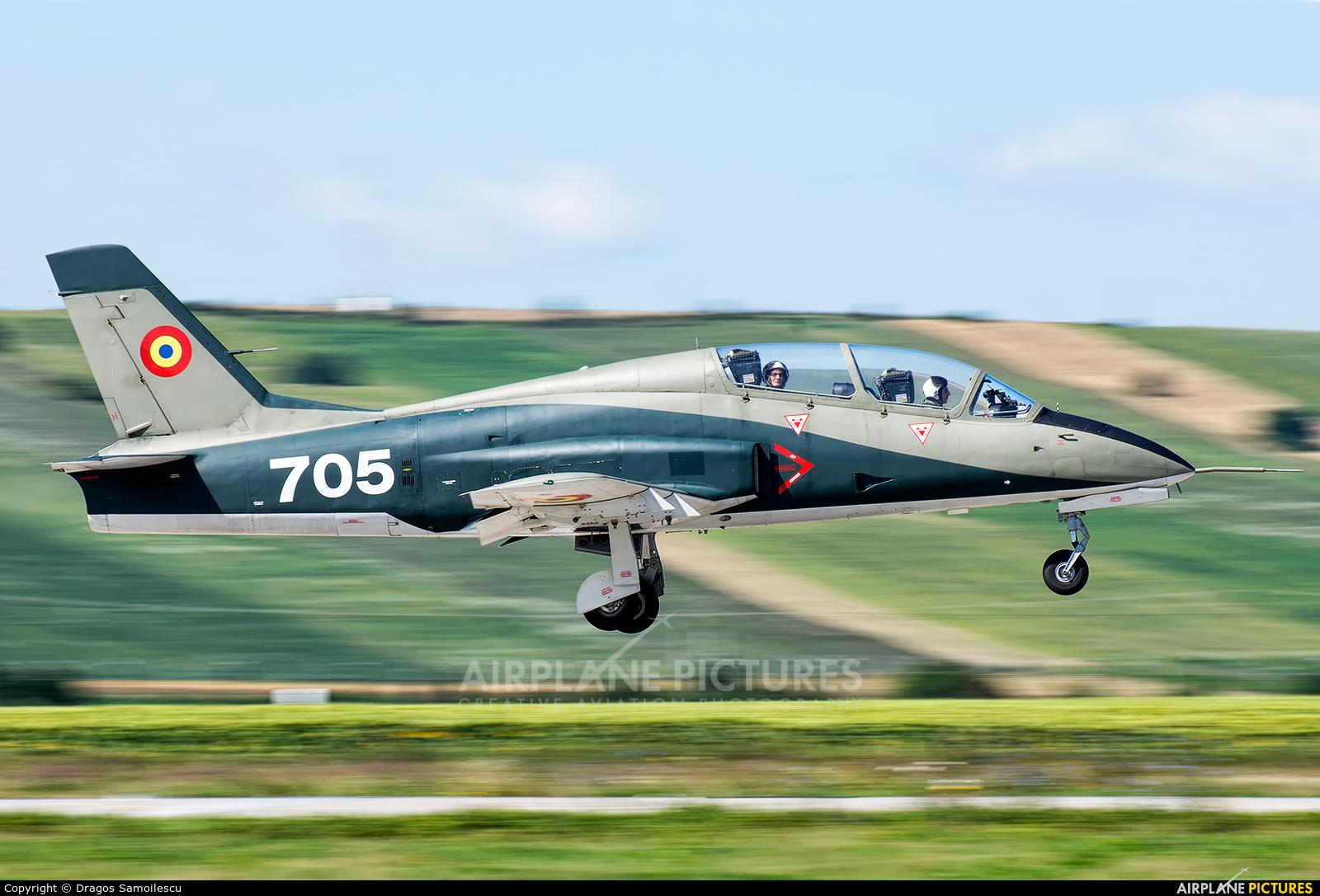 Romania - Air Force 705 aircraft at Câmpia Turzii