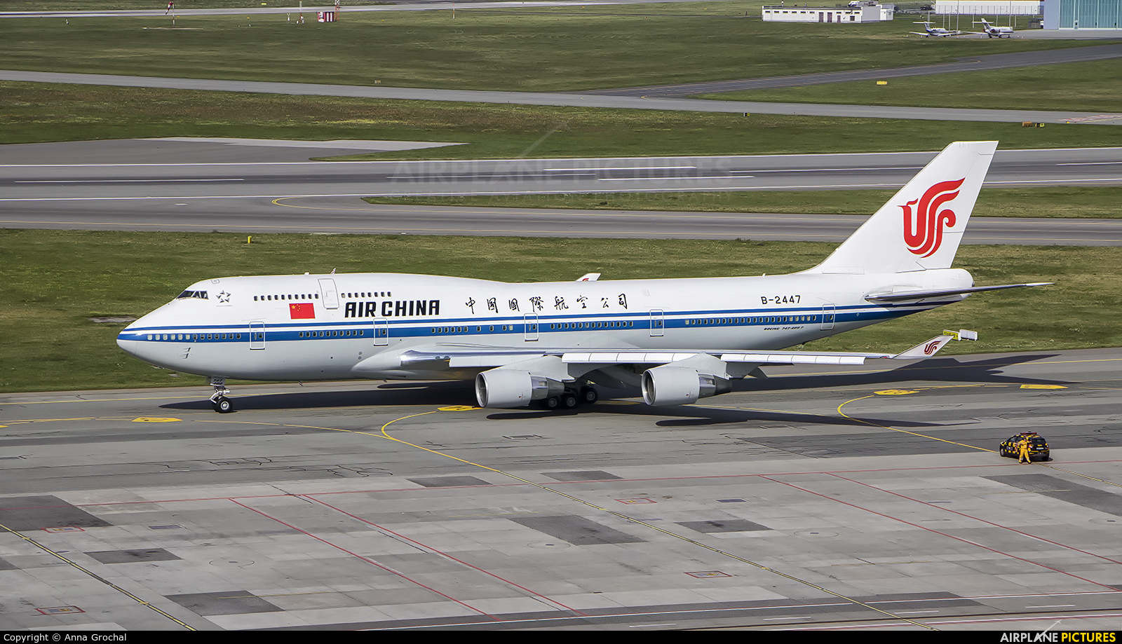 Air China B-2447 aircraft at Warsaw - Frederic Chopin