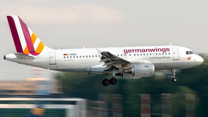 D-AKNG - Germanwings Airbus A319