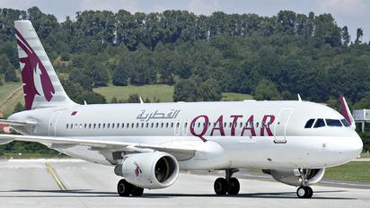 A7-LAA - Qatar Airways Airbus A320