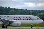 A7-ADA - Qatar Airways Airbus A320 aircraft