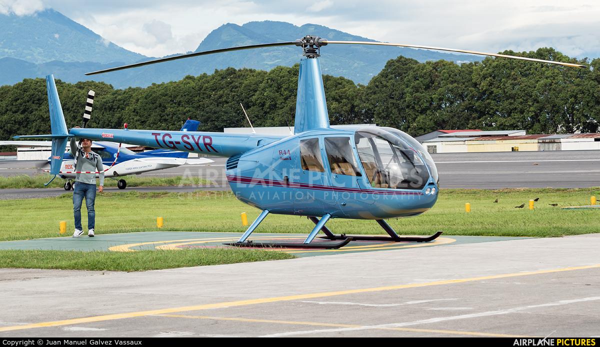 Private TG-SYR aircraft at Guatemala - La Aurora