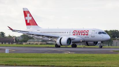 HB-JBD - Swiss Bombardier CS100