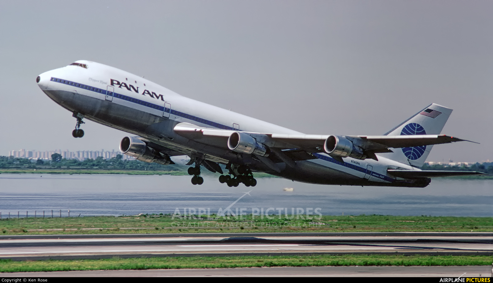 Pan Am N740PA aircraft at New York - John F. Kennedy Intl