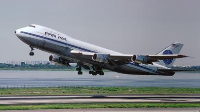 N740PA - Pan Am Boeing 747-100