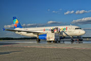 SP-HAC - Small Planet Airlines Airbus A320 aircraft