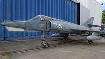 56 - France - Navy Dassault Super Etendard aircraft