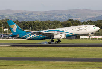 A40-DF - Oman Air Airbus A330-200