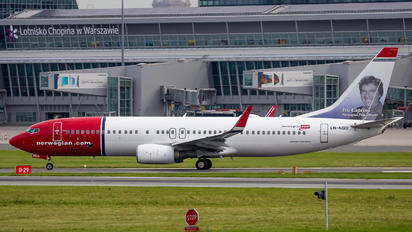 LN-NGD - Norwegian Air Shuttle Boeing 737-86X(WL)