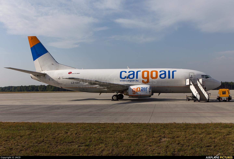 Cargo Air LZ-CGP aircraft at Katowice - Pyrzowice