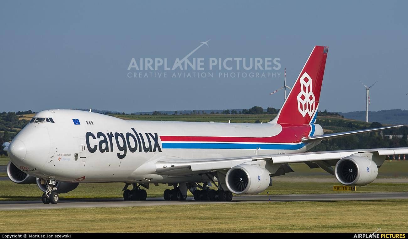 Cargolux LX-VCE aircraft at Vienna - Schwechat