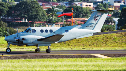 MSP020 - Costa Rica - Ministry of Public Security Beechcraft 90 King Air