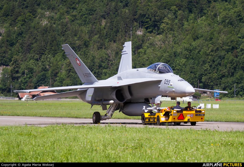 Switzerland - Air Force X-5099 aircraft at Meiringen