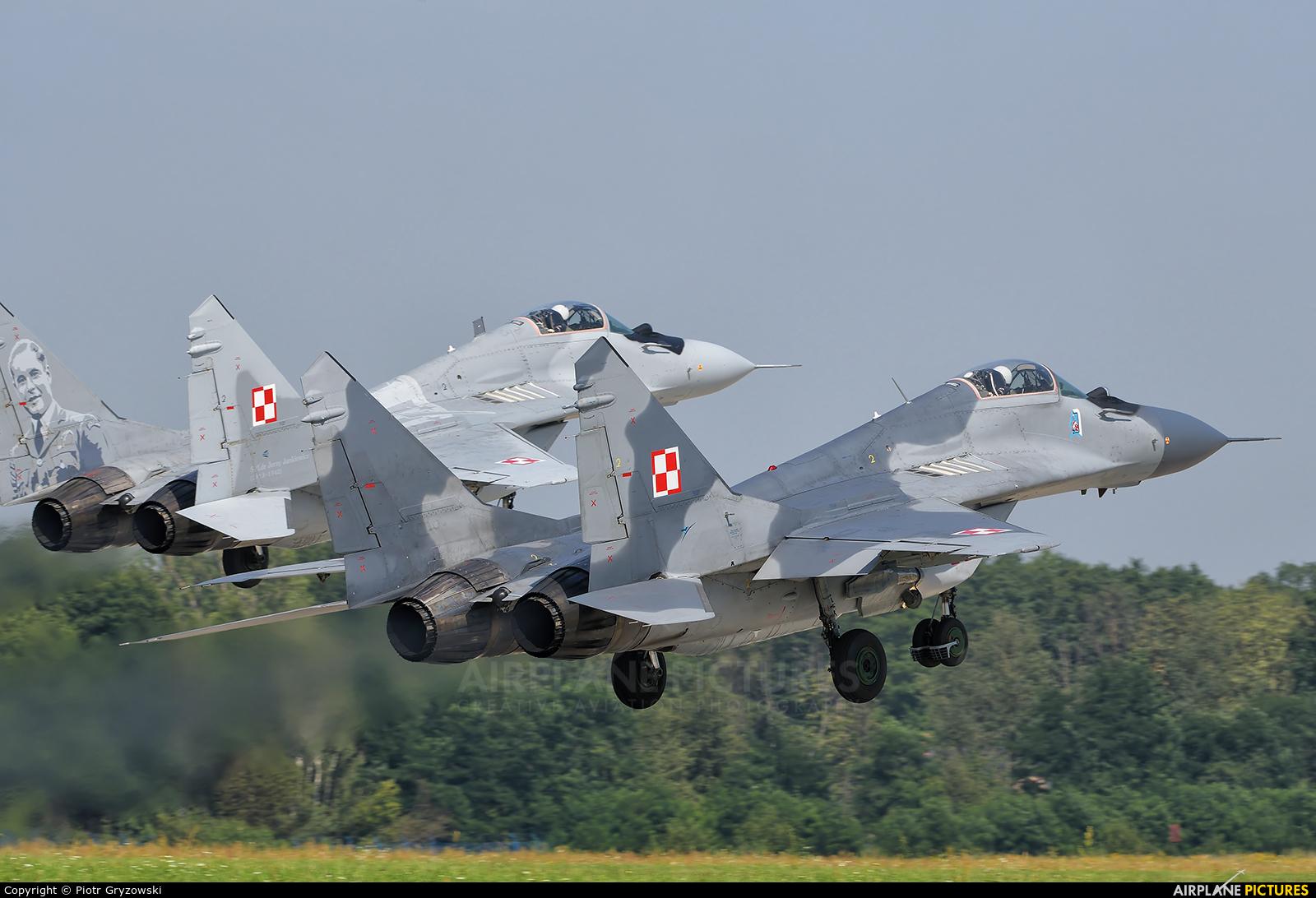 Poland - Air Force 65 aircraft at Mińsk Mazowiecki