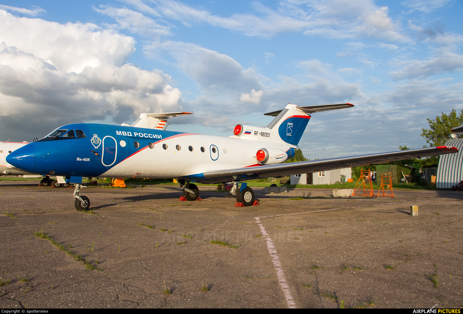 Russia - Ministry of Internal Affairs RA-88301 aircraft at Ramenskoye - Zhukovsky