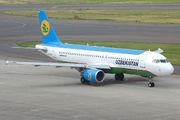 Uzbekistan A320 visits Chubu title=