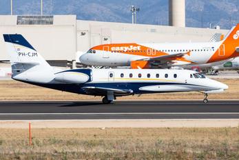 PH-CJM - Air Service Liege Cessna 680 Sovereign