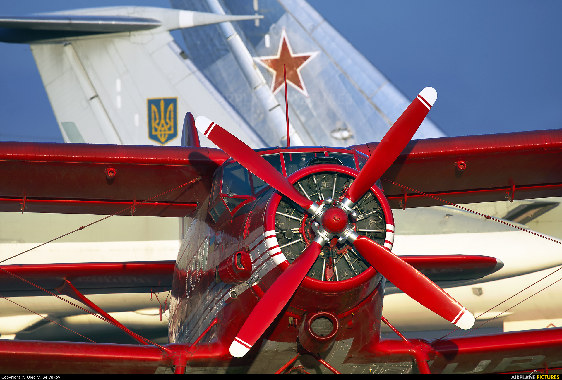 Private UR-ANC aircraft at Kyiv - Zhulyany