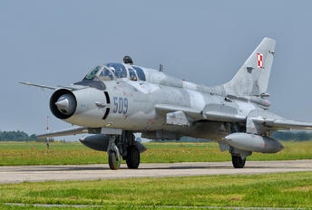 509 - Poland - Air Force Sukhoi Su-22UM-3K
