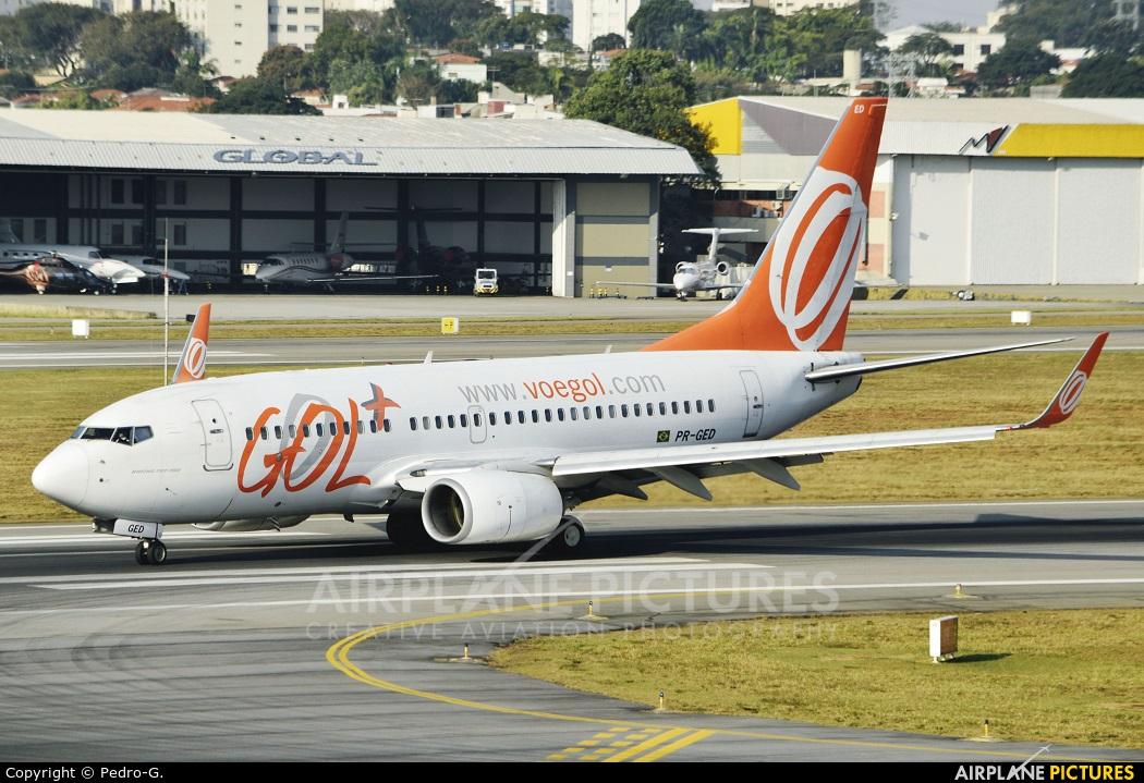 GOL Transportes Aéreos  PR-GED aircraft at São Paulo - Congonhas