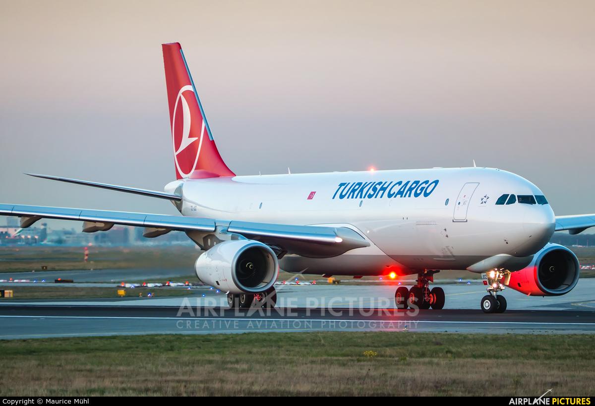 Turkish Cargo TC-JOZ aircraft at Frankfurt