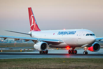 TC-JOZ - Turkish Cargo Airbus A330-200F